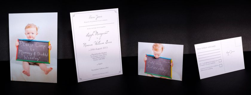 Come to Mummy and Daddy's Wedding Invitation | Leigh & Will