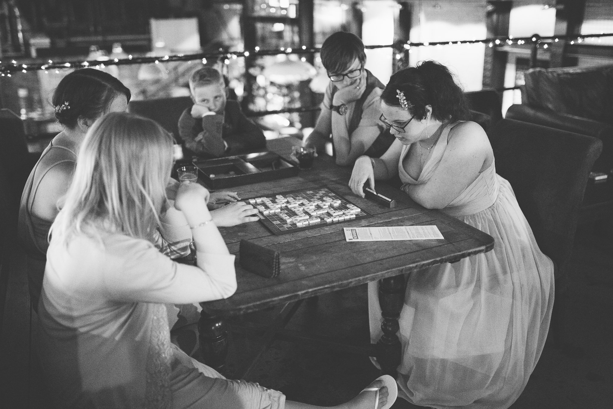 Guests playing games at The Depot Carpenter's mews