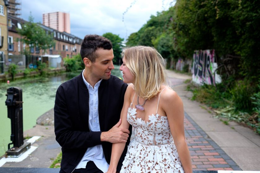 Hackney Wick Engagement Shoot | Laura & Gavin