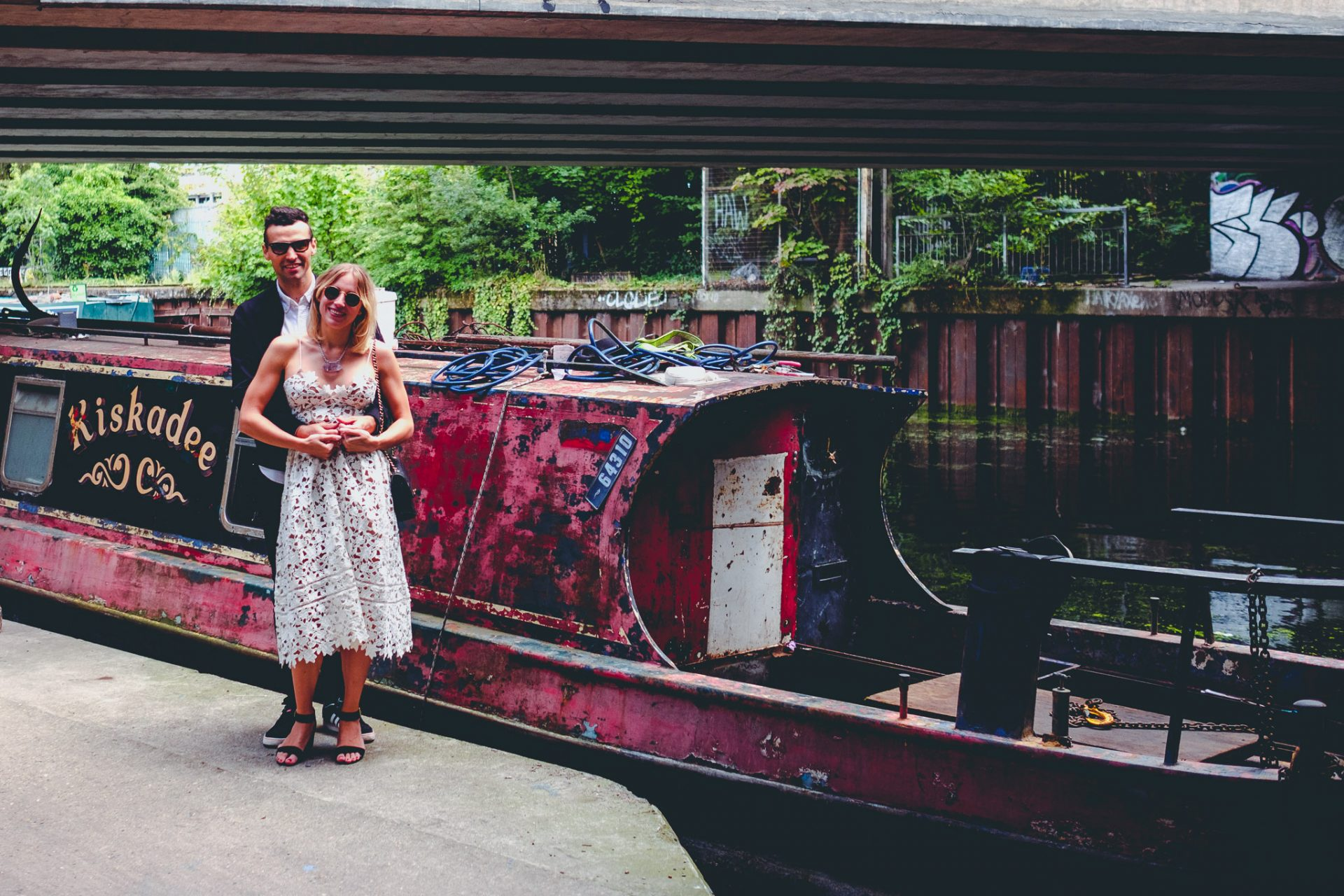 Hackney Wick Engagement Shoot Laura and Gavin