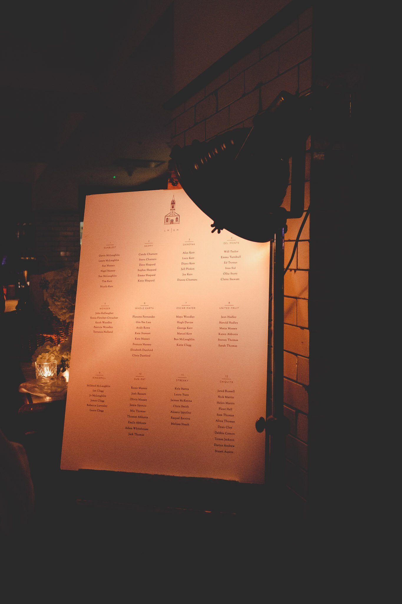 Table plan at Hawksmoor Steakhouse in Guildhall London
