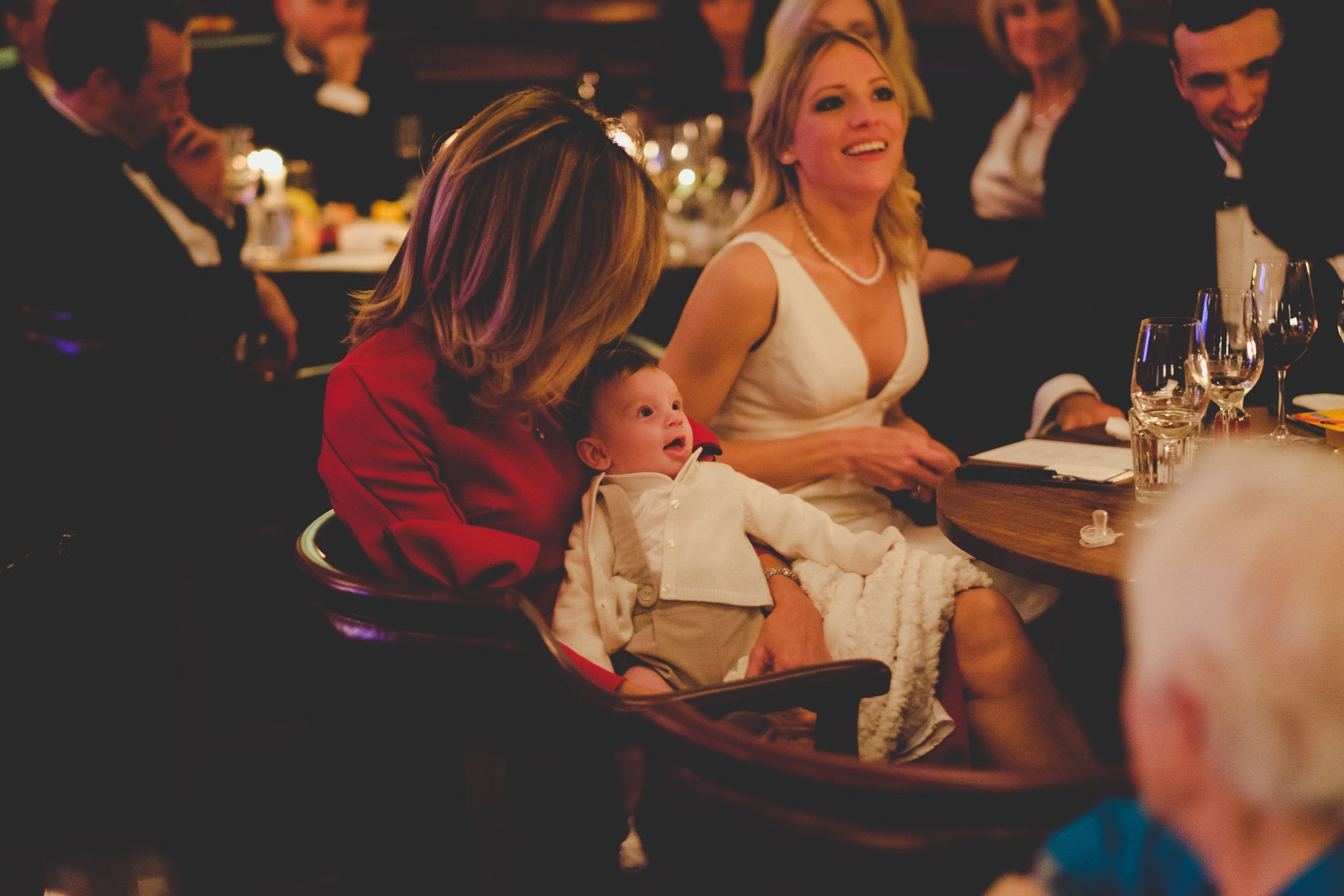 Happy Baby at Hawksmoor Steakhouse in Guildhall London
