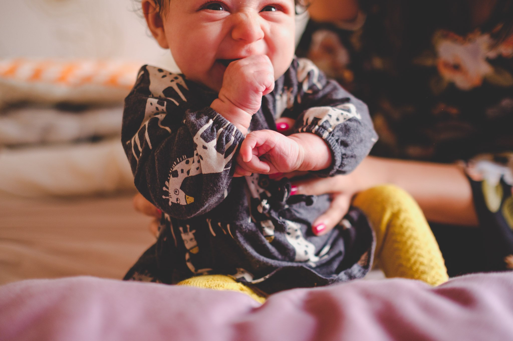 Very happy baby Lifestyle photography Chiswick