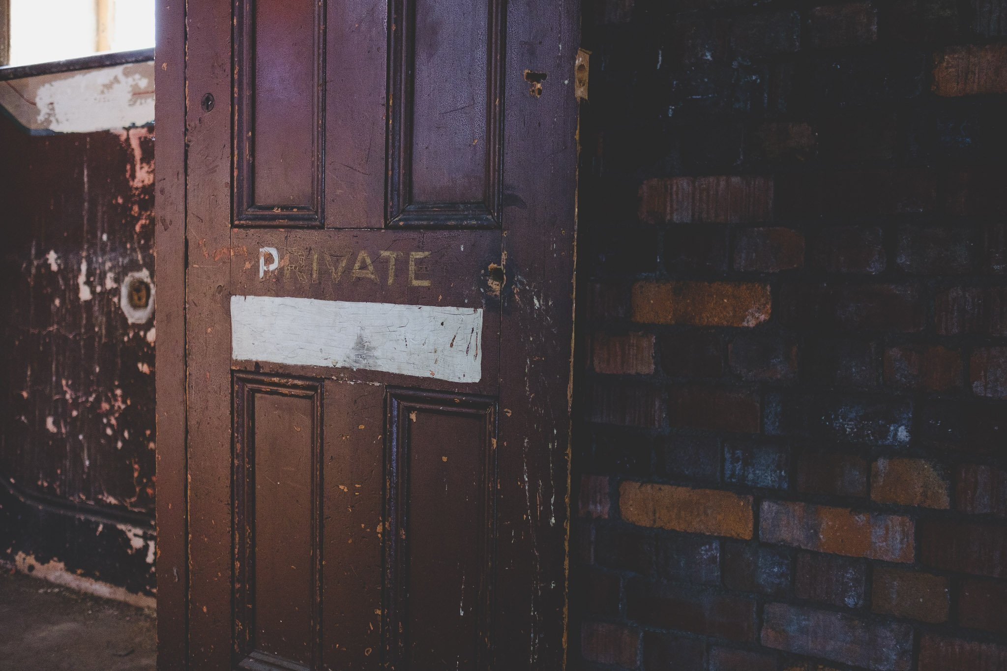 Open door at Abbeydale Picture House in Sheffield